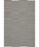 RugStudio presents Ralph Lauren Cameron Stripe RLR5315C Coal Surf Flat-Woven Area Rug