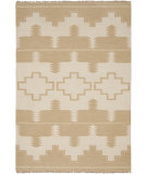 RugStudio presents Ralph Lauren Plains Creek RLR5851A Desert Cream Hand-Knotted, Good Quality Area Rug