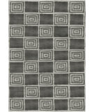 RugStudio presents Ralph Lauren Alistair Tiles RLR6671C Platinum Hand-Knotted, Best Quality Area Rug