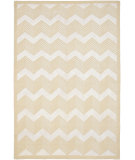 RugStudio presents Ralph Lauren Monroe Chevron RLR6725A Champagne Hand-Knotted, Best Quality Area Rug