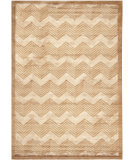 RugStudio presents Ralph Lauren Monroe Chevron RLR6725F Truffle Hand-Knotted, Best Quality Area Rug