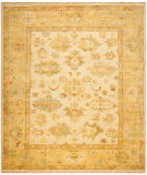 RugStudio presents Ralph Lauren Langford RLR6845B Ant. Parchment Hand-Knotted, Best Quality Area Rug