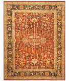 RugStudio presents Ralph Lauren Wexford RLR7611A Old Russet Hand-Knotted, Best Quality Area Rug