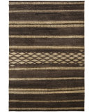 RugStudio presents Ralph Lauren Nairobi Stripe RLR7731A Safari Brown Hand-Knotted, Best Quality Area Rug