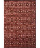 RugStudio presents Ralph Lauren Sheldon RLR7732B Lakehouse Red Hand-Knotted, Best Quality Area Rug