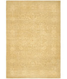 RugStudio presents Ralph Lauren Harper Tonal RLR8753B Madison Gold Hand-Knotted, Best Quality Area Rug