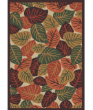 RugStudio presents Regence Home Cumberland Autumn Leaves Jewel Machine Woven, Good Quality Area Rug