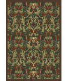 RugStudio presents Regence Home Malmesbury Agra Emerald Machine Woven, Good Quality Area Rug