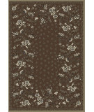 RugStudio presents Regence Home Malmesbury Anemone Umber Machine Woven, Good Quality Area Rug