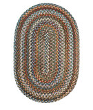 RugStudio presents Rhody Rugs Astoria As22 Greengrass Braided Area Rug