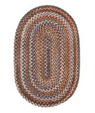 RugStudio presents Rhody Rugs Astoria As32 Walnut Braided Area Rug