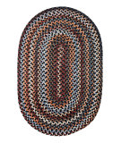 RugStudio presents Rhody Rugs Astoria As82 Black Rock Braided Area Rug