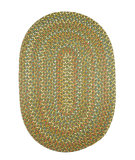 RugStudio presents Rhody Rugs Cypress Cy67 Olive Braided Area Rug
