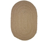 RugStudio presents Rhody Rugs Duet D533 Flax Braided Area Rug