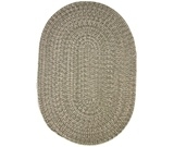 RugStudio presents Rhody Rugs Duet D633 Moss Braided Area Rug