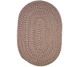 RugStudio presents Rhody Rugs Duet D733 Rosette Braided Area Rug