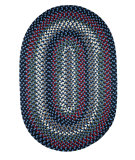 RugStudio presents Rhody Rugs Mayflower Mf13 Old Glory Braided Area Rug