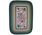 RugStudio presents Rugstudio Famous Maker 39319 Evergreen Hand-Hooked Area Rug
