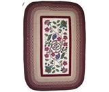 RugStudio presents Rhody Rugs Braided Hook Collection SYIB702 Vineyard Hand-Hooked Area Rug
