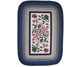 RugStudio presents Rhody Rugs Braided Hook Collection SYIB902 Williamsburg Hand-Hooked Area Rug