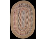 RugStudio presents Rhody Rugs Tapestry TA52 Wheat Braided Area Rug