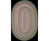 RugStudio presents Rhody Rugs Tapestry TA62 Moss Braided Area Rug