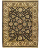 RugStudio presents Rizzy Benaras BE-1982 Charcoal Hand-Knotted, Best Quality Area Rug