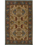 RugStudio presents Rizzy Bentley Bl2421 Beige/Blue Hand-Tufted, Good Quality Area Rug