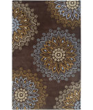 RugStudio presents Rizzy Bentley Bl3140 Brown Hand-Tufted, Good Quality Area Rug