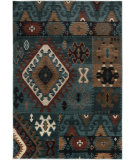 RugStudio presents Rizzy Bellevue Bv3704 Blue Machine Woven, Good Quality Area Rug