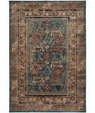 RugStudio presents Rizzy Bellevue Bv3728 Blue Machine Woven, Good Quality Area Rug