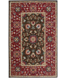RugStudio presents Rizzy Camden Cd3022 Brown/Red Hand-Tufted, Good Quality Area Rug