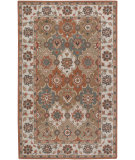 RugStudio presents Rizzy Camden Cd3026 Rust/Beige Hand-Tufted, Good Quality Area Rug