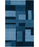 RugStudio presents Rizzy Colours Cl2819 Blue Hand-Tufted, Good Quality Area Rug