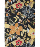 RugStudio presents Rizzy Country CT-1472 Black Hand-Tufted, Good Quality Area Rug