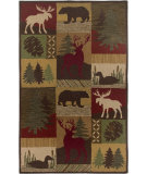 RugStudio presents Rizzy Country CT-2062 Brown Hand-Tufted, Good Quality Area Rug