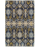 RugStudio presents Rizzy Country Ct8225 Navy Hand-Tufted, Good Quality Area Rug