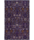 RugStudio presents Rugstudio Sample Sale 101134R Plum Hand-Tufted, Good Quality Area Rug