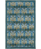 RugStudio presents Rizzy Century Cy2872 Medium Blue Hand-Tufted, Good Quality Area Rug