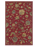 RugStudio presents Rizzy Dimensions Di1161 Red Hand-Tufted, Good Quality Area Rug