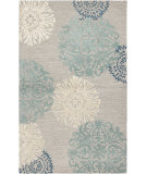 RugStudio presents Rizzy Dimensions DI-2241 Light Gray Hand-Tufted, Good Quality Area Rug