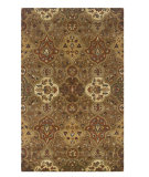 RugStudio presents Rizzy Destiny Dt1024 Brown Hand-Tufted, Good Quality Area Rug