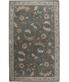 RugStudio presents Rizzy Floral Fl0124 Green Hand-Tufted, Good Quality Area Rug
