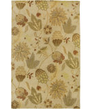RugStudio presents Rizzy Floral FL-1479 Beige Hand-Tufted, Good Quality Area Rug
