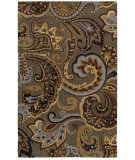 RugStudio presents Rizzy Floral Fl8183 Gray Hand-Tufted, Good Quality Area Rug