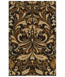 RugStudio presents Rizzy Floral Fl8185 Charcoal Hand-Tufted, Good Quality Area Rug