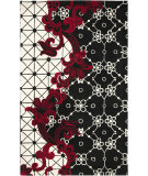 RugStudio presents Rizzy Fusion FN-1447 Black Hand-Tufted, Good Quality Area Rug