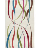 RugStudio presents Rizzy Fusion Fn8016 White Hand-Tufted, Good Quality Area Rug