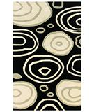 RugStudio presents Rizzy Fusion FN-71 Black Hand-Tufted, Good Quality Area Rug