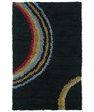 RugStudio presents Rugstudio Sample Sale 32305R Black Area Rug